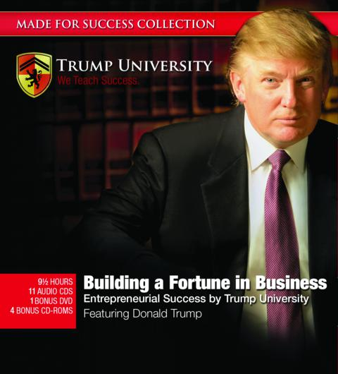 Building A Fortune In Business by Donald Trump