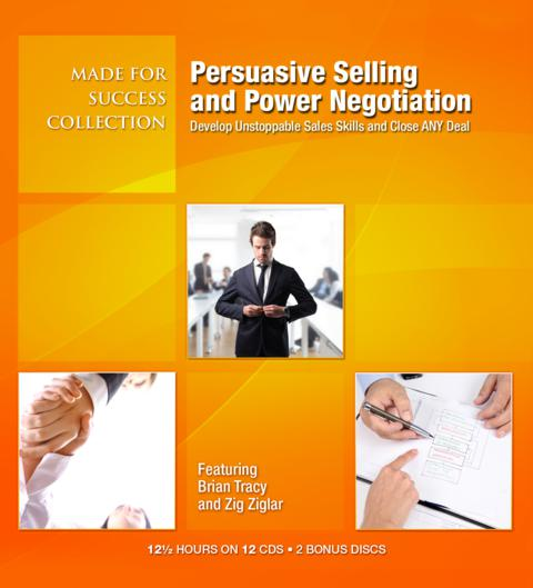 Persuasive Selling & Power Negotiation