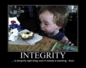 Integrity Who Is Watching Made For Success
